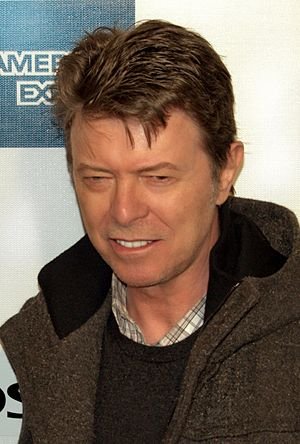 David Bowie at the 2009 Tribeca Film Festival ...