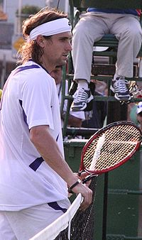 David Ferrer in Australia Open 2007