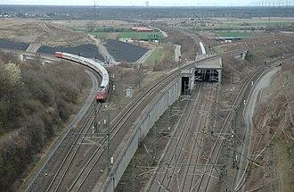 Mannheim–Stuttgart high-speed railway - Image: Db 101023 01