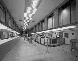 Postal Square Building - Image: Dc city post office main hall before restoration