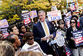De Blasio Protests the Layoffs of 500 LICH Nurses and Health Care Workers (10542664356).jpg