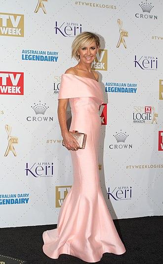Deborah Knight - Image: Deborah Knight arrives at the 58th Annual Logie Awards at Crown Palladium (26854791861)