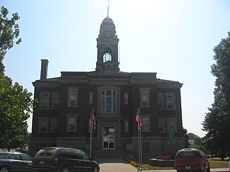 Decatur County Courthouse (Iowa) - Image: Decatur County IA Courthouse