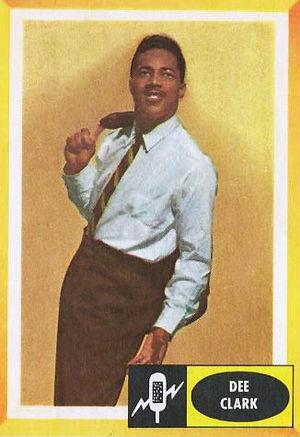 Dee Clark - Clark in 1960