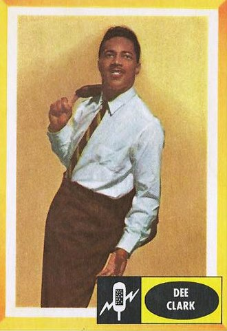Fleer - Fleer also produced non-sports cards such this one depicting singer Dee Clark in 1960