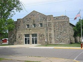 Deerwood Auditorium - The Deerwood Auditorium from the south