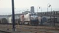 Delaware-Lackawanna power tied down in Steamtown.jpg