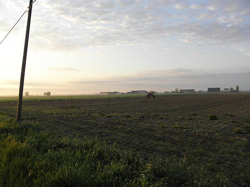 File delta del po campagna nel comune di porto viro jpg for Piani del granaio di campagna