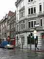 Denmark Street, London, view from St Giles High Street end.jpg