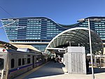 Denver Airport Station with track 2 on left looking toward the hotel.jpg