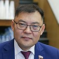 Deputy of the State Duma of Russia from the Republic of Buryatia Aldar Damdinov.jpg