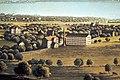 Der obere Zürich See mit seiner Umgebung, Aquatinta 1859, Panorama vom Meienberg in Jona -Ausschnitt Brändlin-Grünfels- Stadtmuseum Rapperswil - 'Stadt in Sicht - Rapperswil in Bildern' 2013-10-05 16-17-30 (P7700).JPG