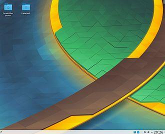 Kubuntu - Image: Desktop Kubuntu 17.04