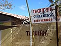 Detail of Taqueria de Sinaloense - Loreto - Baja California Sur - Mexico (23868897286).jpg