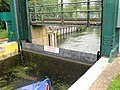 Detail of Weston Favell bottom guillotine gate - geograph.org.uk - 2064157.jpg