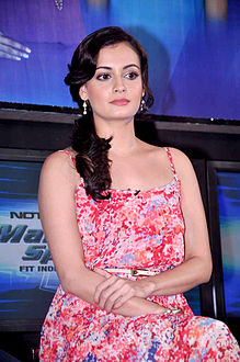 Dia Mirza at the NDTV Marks for Sports event, July 2012.