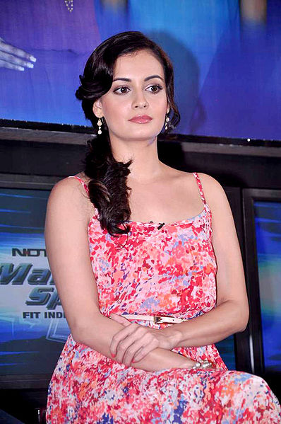 File:Dia Mirza at the NDTV Marks for Sports event 11.jpg