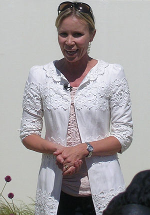 Dianne Oxberry - Dianne at the 2010 RHS Tatton Park show