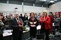 Die Bundesversammlung hat Gauck zum Prsädienten gewählt, Beate Klarsfeld erhielt 126 Stimmen - drei mehr, als DIE LINKE Mandate hatte (6849790630).jpg