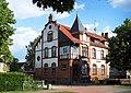 Die Denkmalgeschützte Post in Lindow - panoramio.jpg
