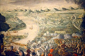 Battle of Buda (1686) - The Holy League took Buda after a long siege in 1686