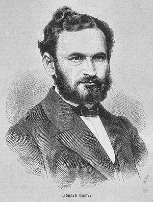 Eduard Lasker - Portrait of Eduard Lasker