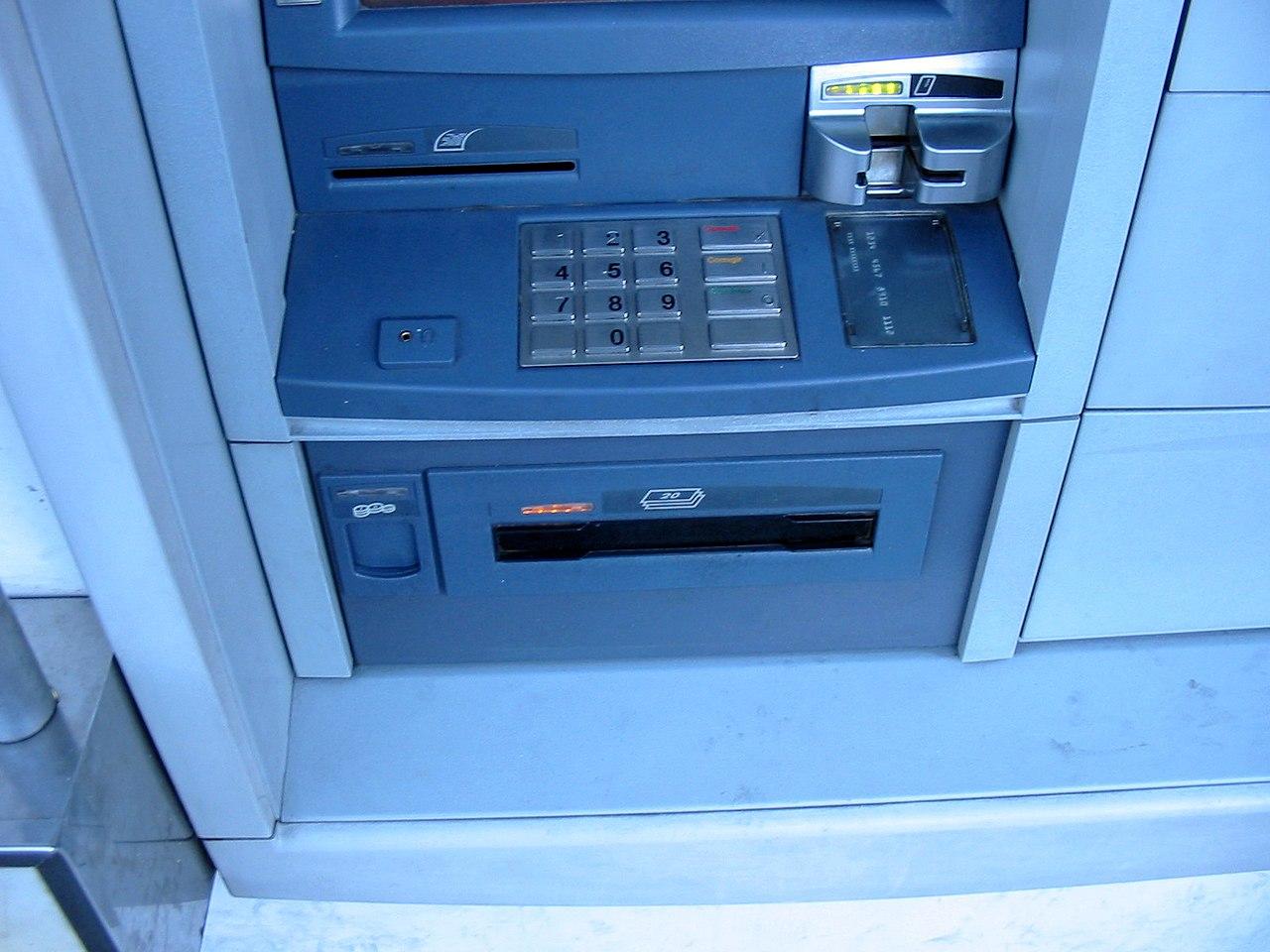 File diebold opteva 562 banco internacional outside for Banco internacional