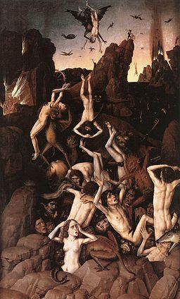 Dieric Bouts - Hell - WGA02967