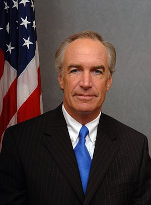 Dirk Kempthorne - Image: Dirk Kempthorne, official Interior Dept color photo, 2006