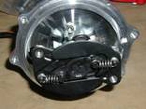 Ignition timing - Distributor weights