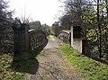 Disused railway bridge over River Earn near Dalchonzie, Perthshire - geograph.org.uk - 1578250.jpg