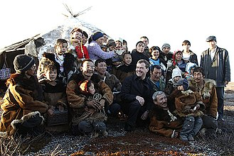Chukotka Autonomous Okrug - Russian President Dmitry Medvedev in Chukotka, 2008