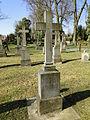 Dobbertin Klosterfriedhof Grabstein Margarethe von Behr Reihe 4 Platz 10 2012-03-23 232.JPG