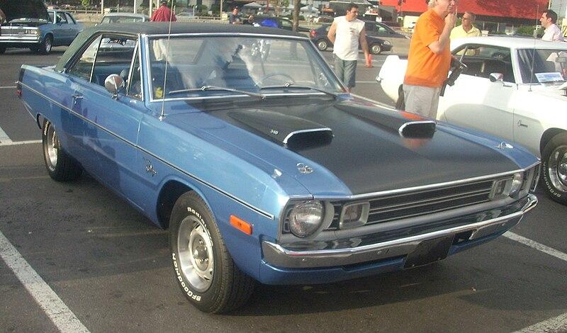 Dodge DODGE DART SWINGER Hardtop 1975 #24756