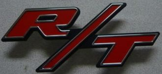 R/T - Dodge R/T vehicles badge
