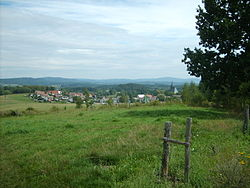 Dolní Dvořiště as seen from west