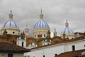Cuenca, Ecuador - The Catedral Nueva