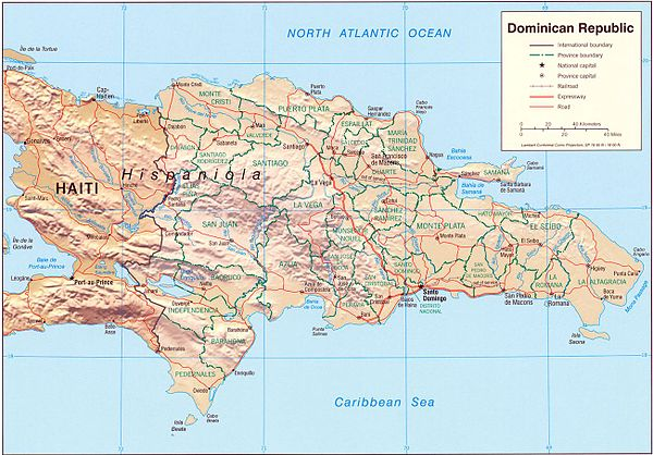 Outline Of The Dominican Republic Wikiwand - Where is the dominican republic located