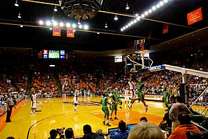 Don Haskins Center - Image: Don Haskins Center UTEP Interior
