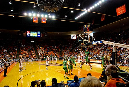Don Haskins Center at the UTEP campus. Don Haskins Center UTEP Interior.jpg