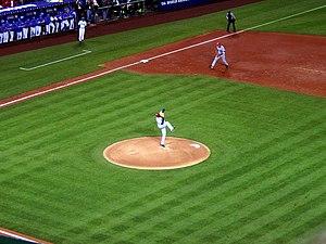2006 World Baseball Classic - A game on Mar. 13, 2006, Angel Stadium, Anaheim, USA