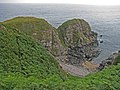 Doonie Point viewed from cliff edge - geograph.org.uk - 897449.jpg