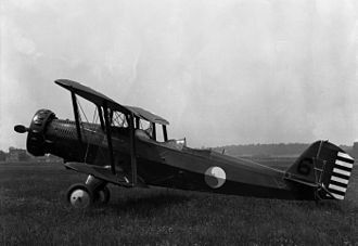 104th Fighter Squadron - Maryland National Guard O-38B, used from 1932 to 1937
