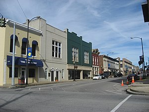 Campbellsville, Kentucky - Image: Downtown Campbellsville IMG 1038