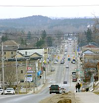 Durham, seat of and largest community in West Grey