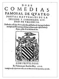 III SONETOS : INTRODUCCIÓN - HISTORIA - ESTRUCTURA POÉTICA - SELECCIÓN DE SONETOS EN CASTELLANO 200px-Doze_comedias_de_cuatro_poetas_de_Valencia
