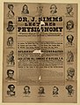 Dr. J. Simms. Lectures on physiognomy LCCN2003677797.jpg