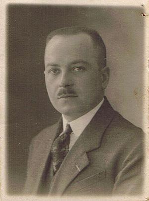Political Prisoner's Cross 1940–1945 - Doctor Ivan Colmant, a recipient of the Political Prisoner's Cross 1940–1945