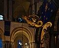 Dragon du beffroi de Tournai dans la Cathédrale Notre-Dame de Tournai pendant la grande procession (DSCF8286).jpg