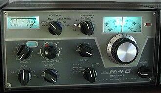R. L. Drake Company - Drake R-4B receiver circa 1971